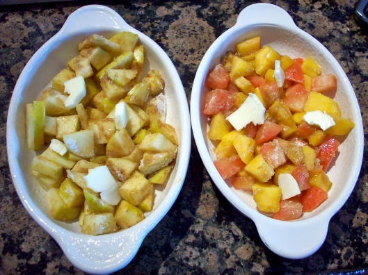 fruit crumble recipe