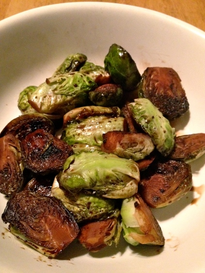 balsamic brussels