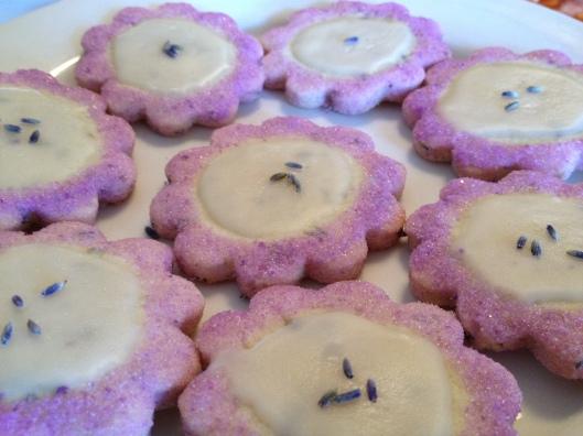 lavender cookies 2