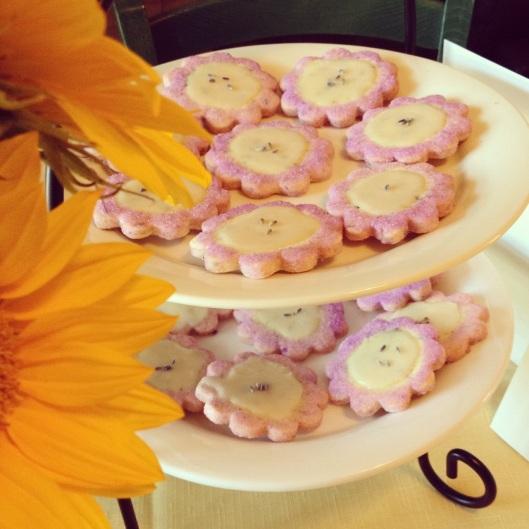 lavender cookies 1