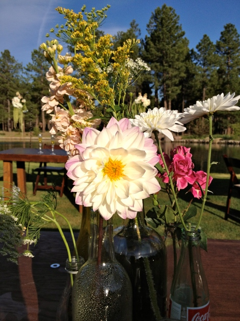 Tibsherany Wildflower Centerpieces