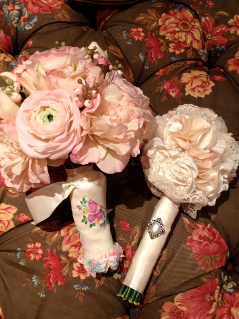 Bride and Maid of Honor Flowers