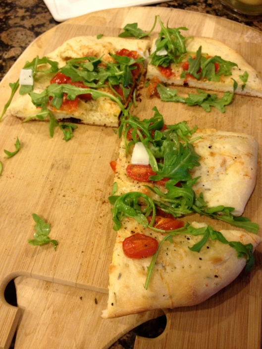Fresh & Easy Flatbread, yum
