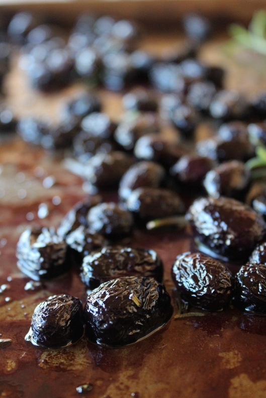 Roasted Grapes Recipe via Tsiporah Blog