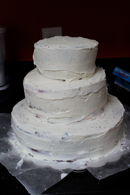 cake with frosting