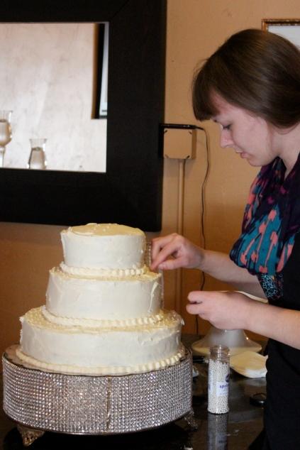 phoenix wedding cake