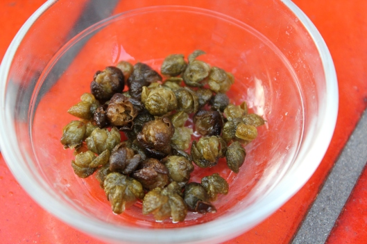 how to fry capers