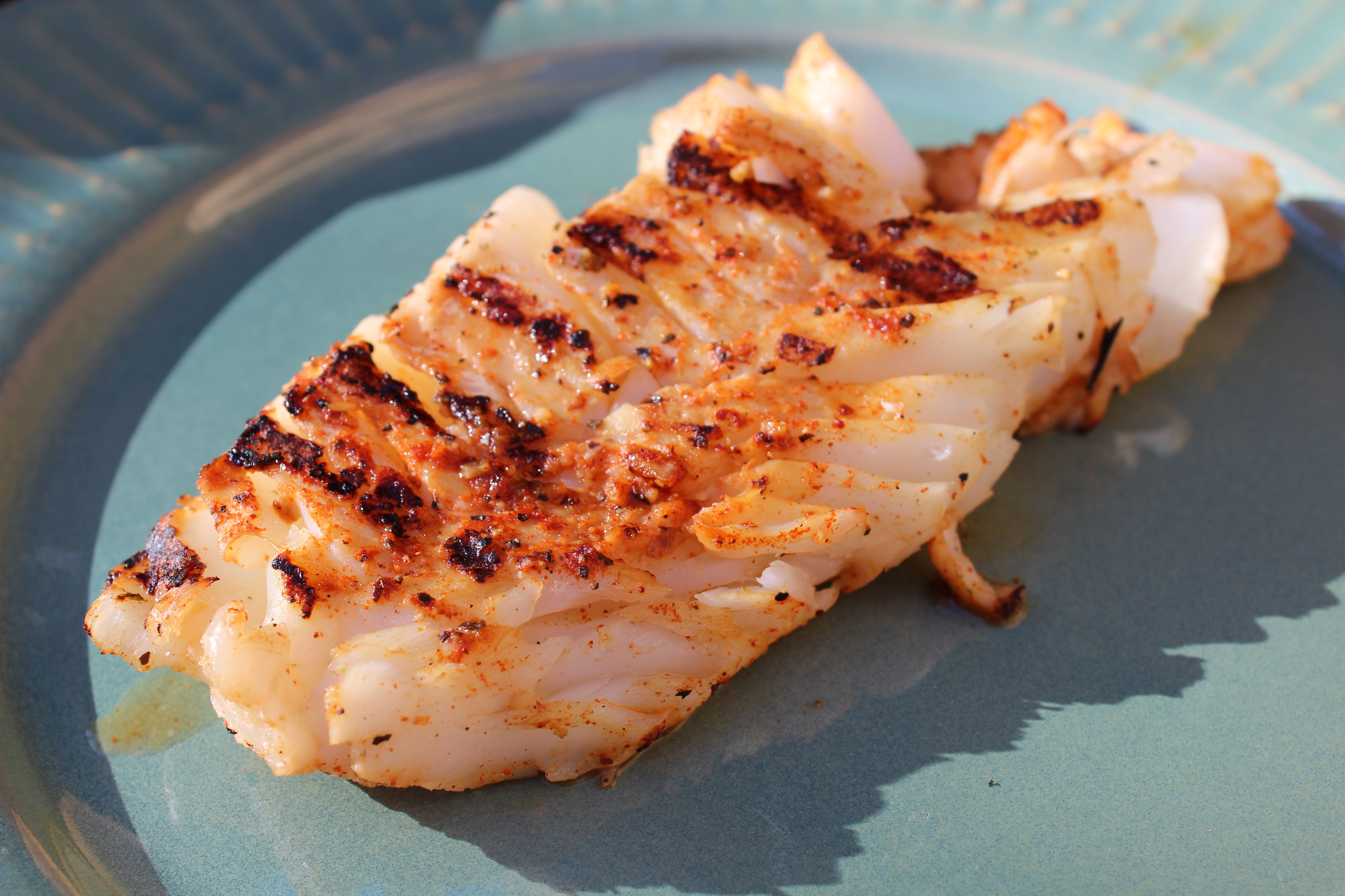 Roasted tsiporah for Grilled cod fish recipe