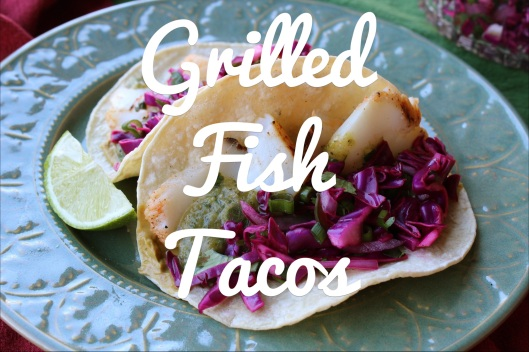 Grilled Fish Tacos | via Tsiporah Blog