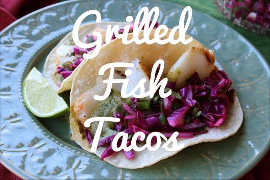 Grilled Fish Tacos | via Tsiporah Blog
