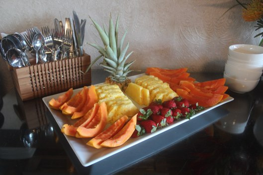 Lumeria Maui Fresh Fruit Breakfast