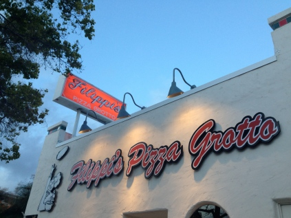 Filippi's Pizza Grotto Review - San Diego | via Tsiporah Blog