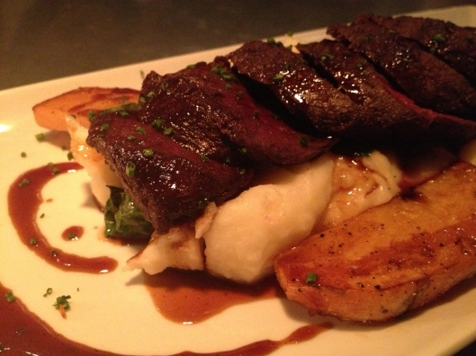 St. Francis Restaurant Review | NY Strip | via Tsiporah Blog