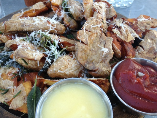 St. Francis Restaurant Review | Fingerling Potatoes | via Tsiporah Blog