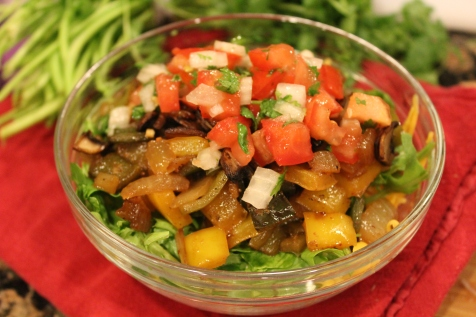 veggie taco bowl recipe