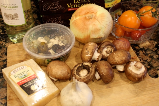 mediterranean pasta ingredients