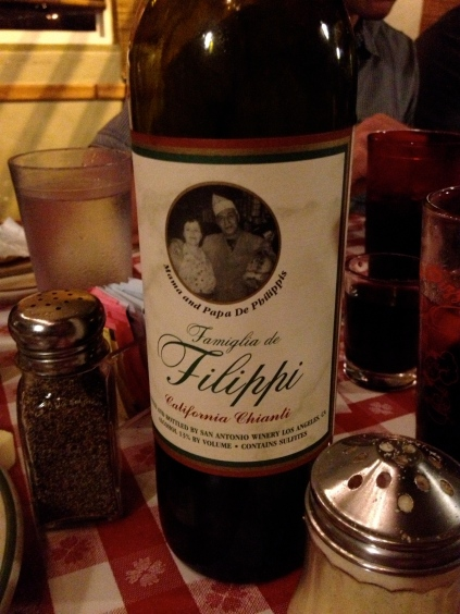 Filippi's Wine | via Tsiporah Blog