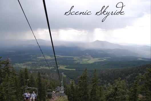 Snowbowl Scenic Skyride - Flagstaff, AZ Guide via Tsiporah Blog