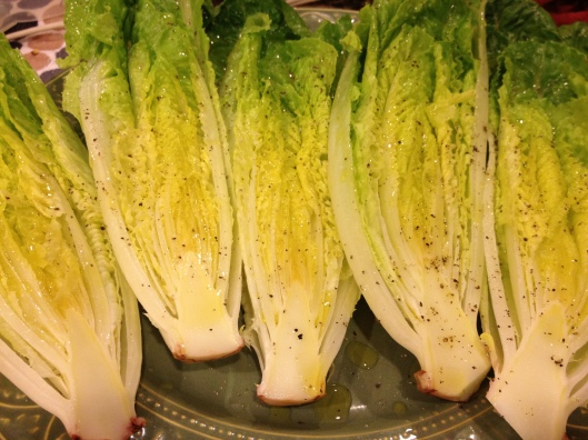 Grilled Romaine via Tsiporah Blog