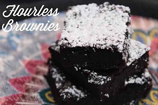 Flourless Gluten Free Brownies Recipe via Tsiporah Blog