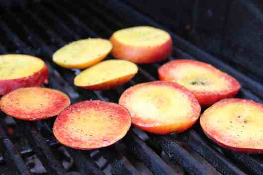 How to Grill Fruit via Tsiporah Blog