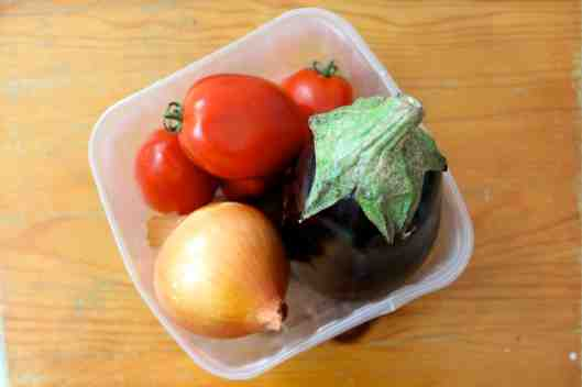 Tomato and Eggplant Ragout Ingredients | #Recipe via Tsiporah Blog