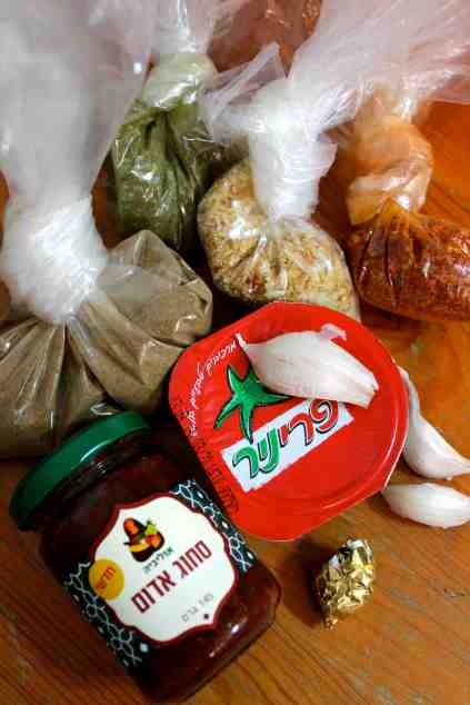 Spices for Tomato and Eggplant Ragout Recipe via Tsiporah Blog