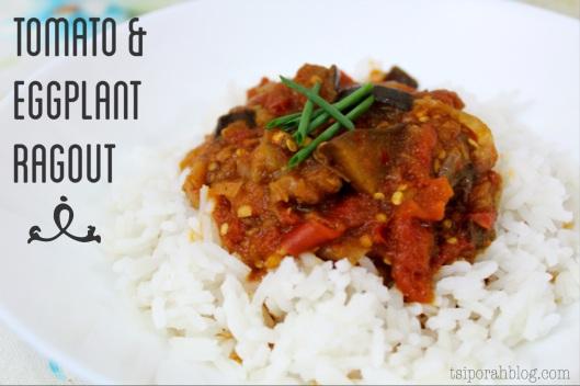 Tomato & Eggplant Ragout Recipe | via Tsiporah Blog
