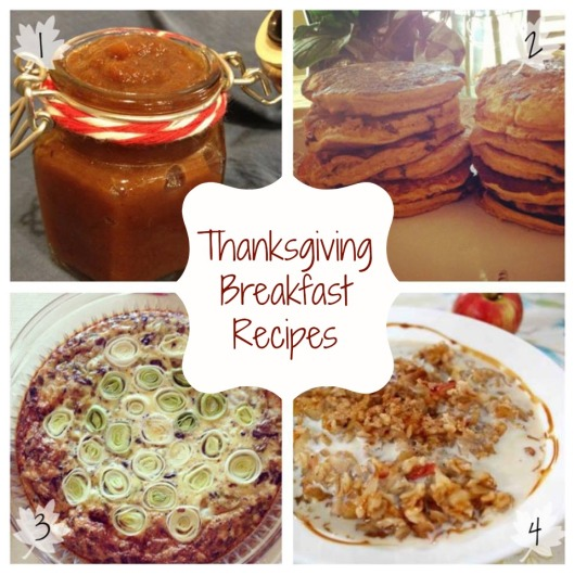 Thanksgiving Breakfast Recipes via Tsiporah Blog