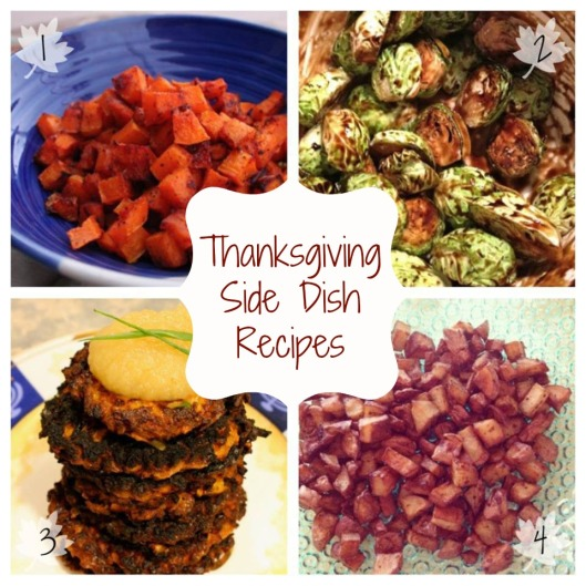 Thanksgiving Side Dish Recipes via Tsiporah Blog