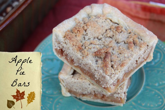 Apple Pie Bars for Autumn via Tsiporah Blog