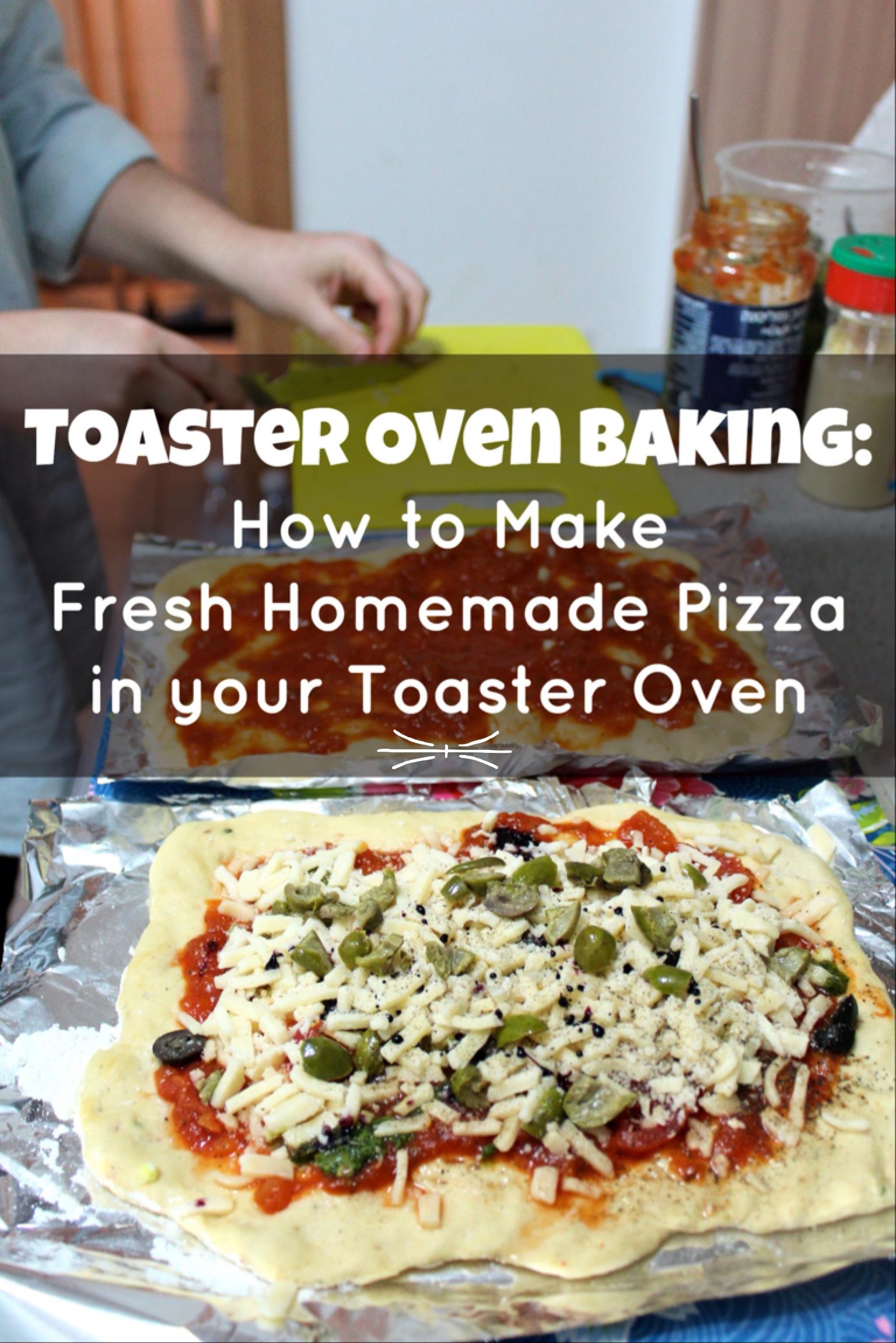 Countertop Pizza Oven Recipes : Toaster Oven Baking: Homemade Pizza {tsiporah}
