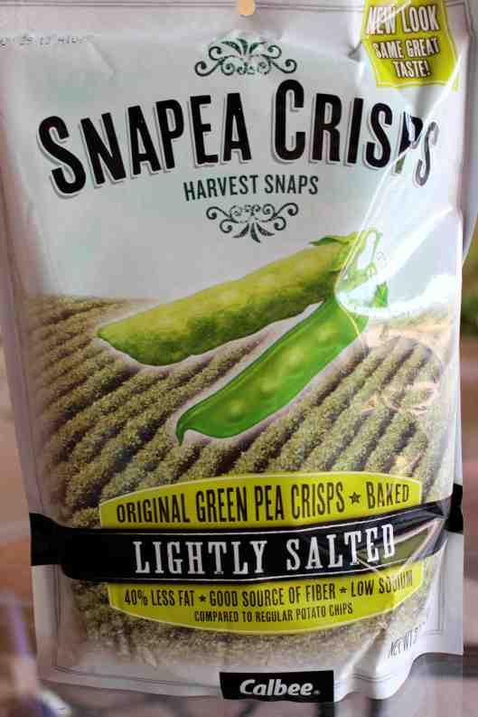 Harvest Snap Pea Crisps!
