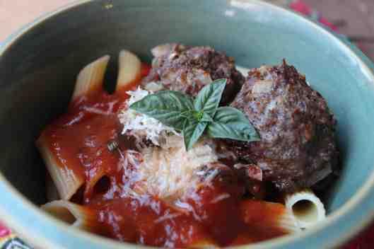 Harvest Snaps Meatballs & Marinara Recipe