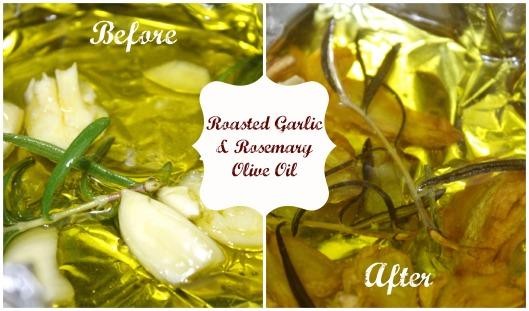 Roasted Garlic Rosemary Oil