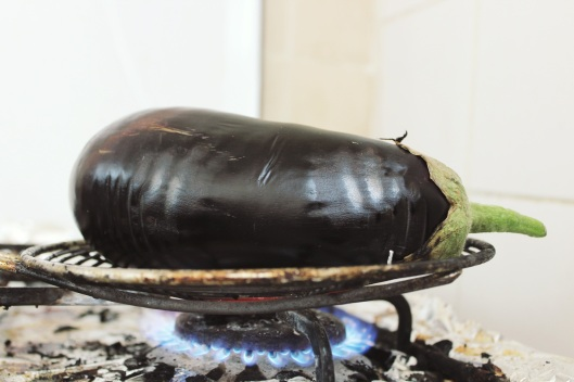 Fire-Roasted Eggplant with Lemon and Tahini // Tsiporah Blog
