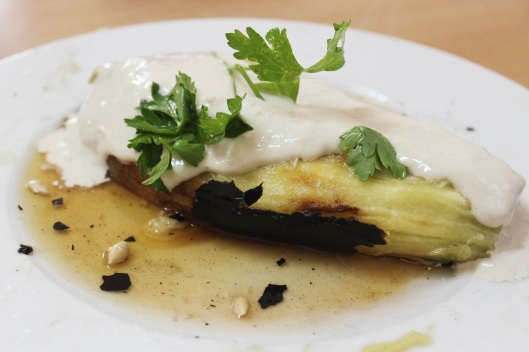 Smokey Eggplant with Tahini // Tsiporah Blog