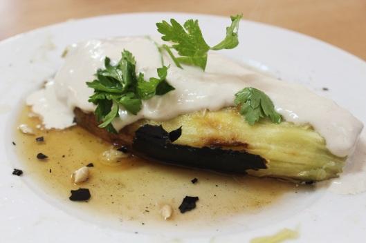 Smokey Eggplant with Tahini // Tsiporah Blog