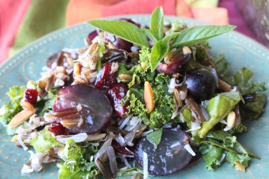 Wild Kale Salad - Wildly Delicious Salad for every occasion