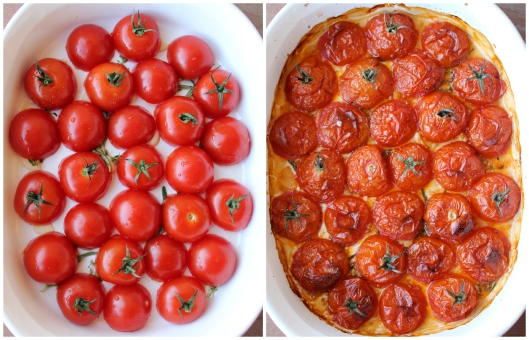 Roasted Campari Tomatoes Recipe via Tsiporah Blog