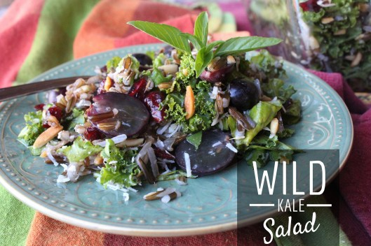 Wild Kale Salad Recipe for Thanksgiving