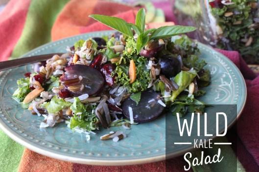 Wild Kale Salad Recipe for Thanksgiving