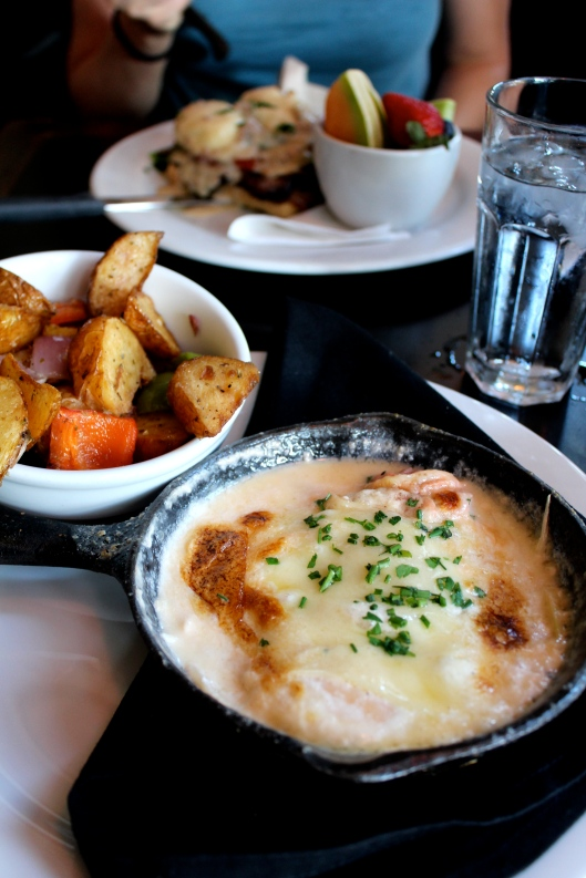 Cast Iron Skillet Baked Eggs at Cup Cafe in Tucson