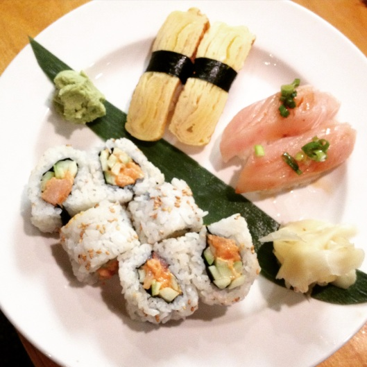 Sushi in the Desert: Sushi on Oracle in Tucson